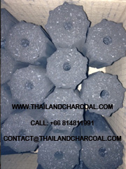 Hexagonal Charcoal Briquette